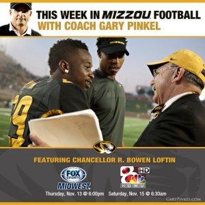 This week in Mizzou Football with Chancellor Loftin