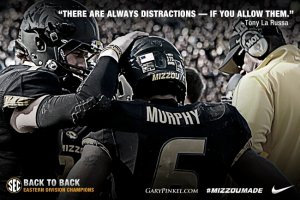 Make a Difference - Distraction Control - Mizzou Football