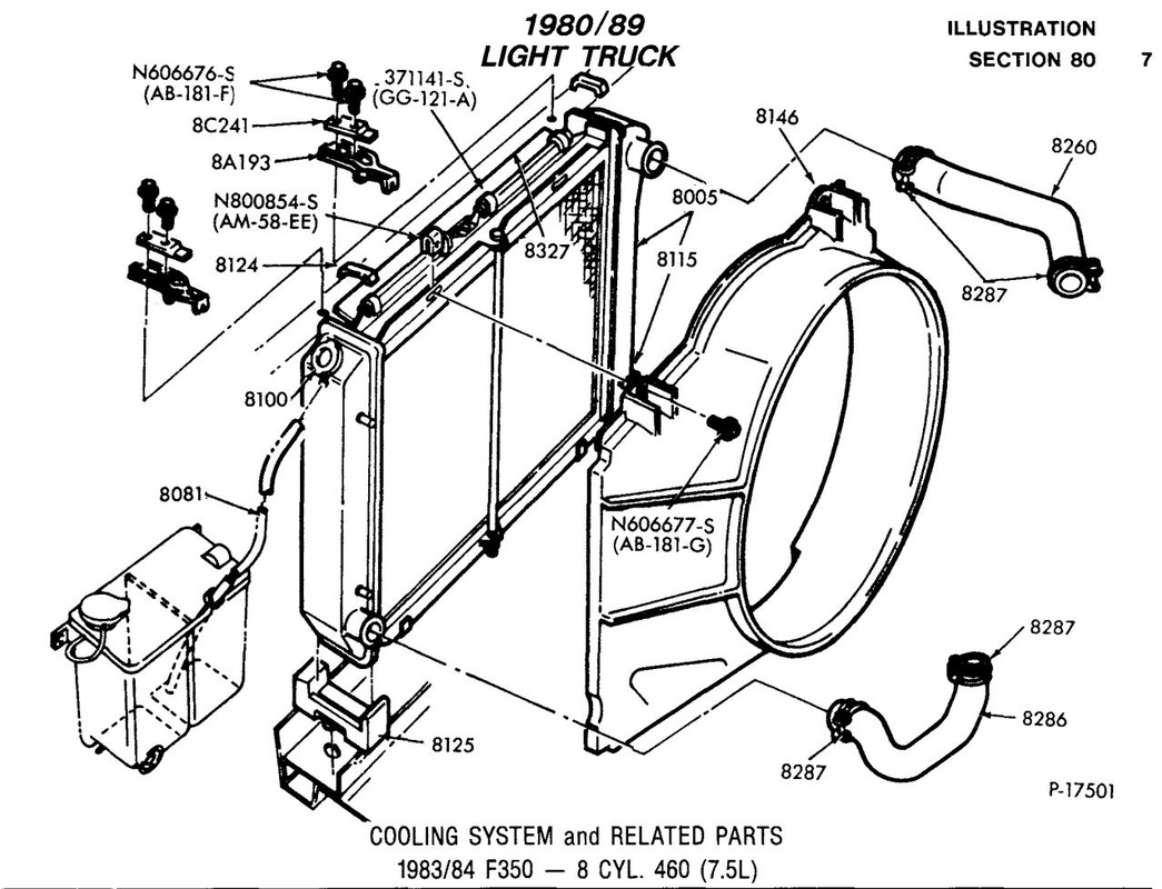 Ford Wiring Ford 460 Vacuum Diagram