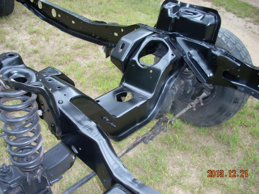 95 Ranger Front Suspension