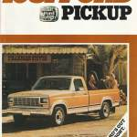 1981 Pickup Brochure Gary S Garagemahal The Bullnose Bible