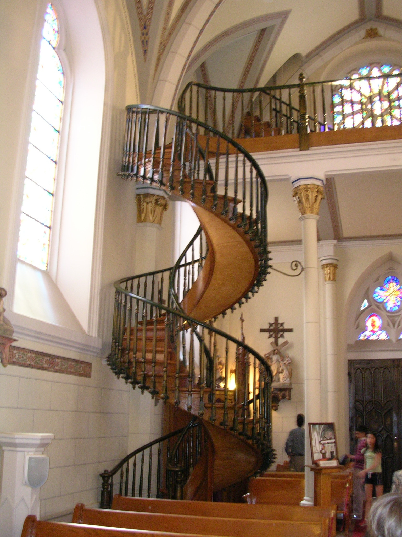 Loretto Chapel Staircase Travels With Gary | The Staircase Of Loretto Chapel | Original | Light | Weird | Stairway | Magical