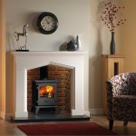 Essence stove With Swinford mantel