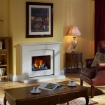 Antigua Opti-myst electric fire suite