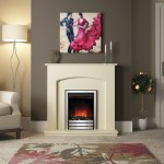 Bewley electric fireplace suite