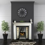Colby Surround with traditional tiled cast inset