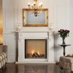 Victorian mantel with Riva2 800 gas fire