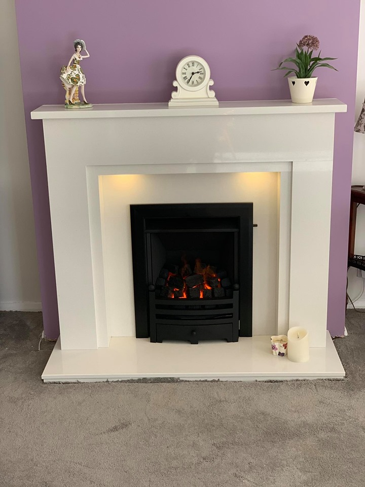 Timora Surround with Legend Gas Fire