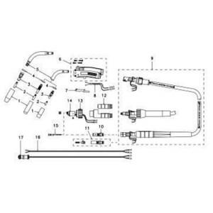 Tweco 350174H Connector Plug (100450A) Tweco 20352110