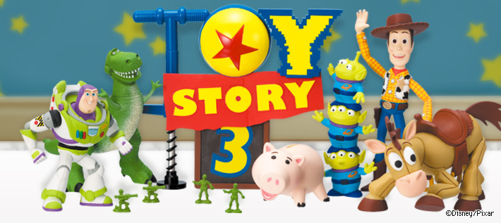 Gashapon Toy Story 3 Gacha Diorama Collection