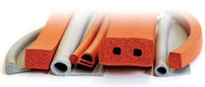 Extruded Silicone Seals