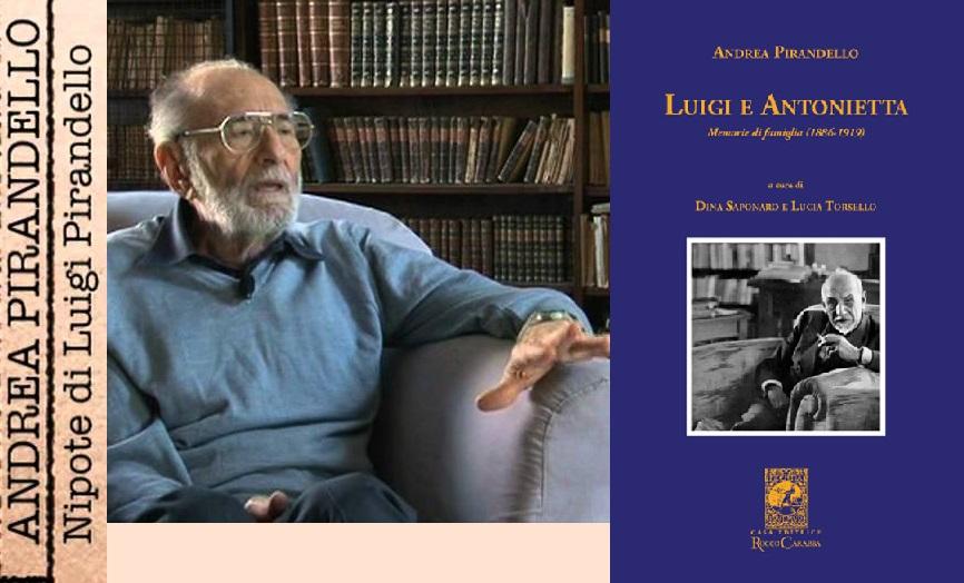 """""""LUIGI E ANTONIETTA. Memorie di famiglia (1886 – 1919)"""" di Andrea Pirandello – Recensione"""