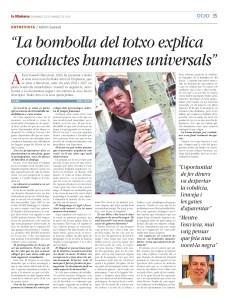 Entrevista de Rosa Peroy. La Mañana 23/03/14