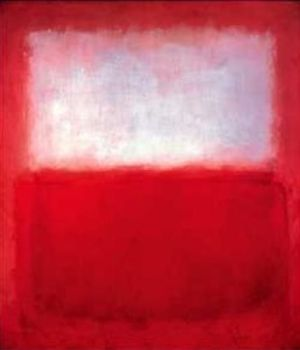 White over red Mark Rothko, 1957