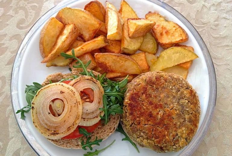 hamburguesa veggie