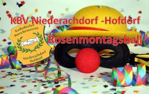 Rosenmontagsball des Burschenvereins Niederachdorf Hofdorf @ Gasthaus Pflamminger | Wörth | Bayern | Deutschland