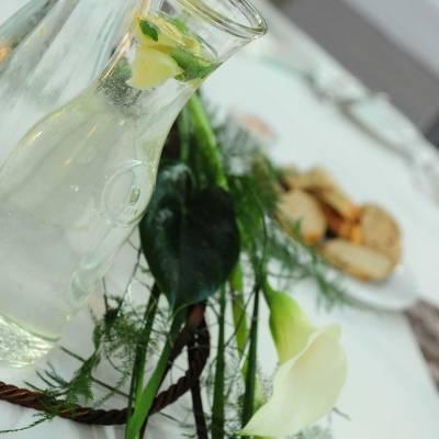 Tischdekoration Hochzeit Salzhof Freistadt