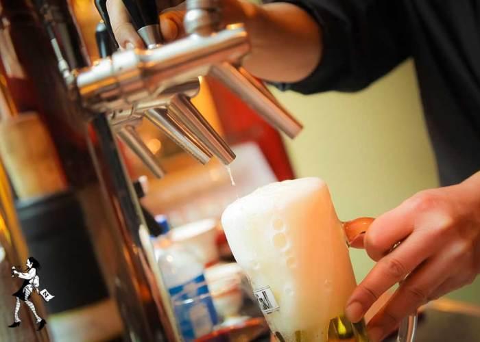 Restaurant Gasthaus Zahm - die Marktwirtschaft: Bier frisch vom Fass