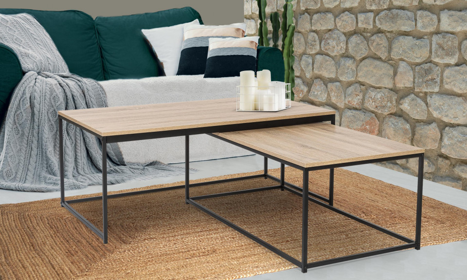 table basse gigognes manufacture grand modele lot de 2