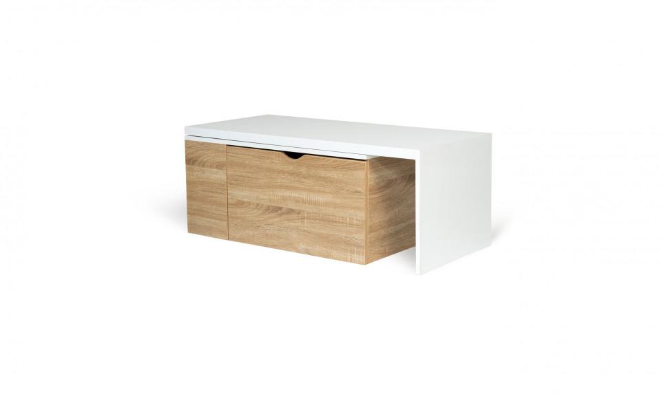 table basse rotative 360 contemporaine lizzi