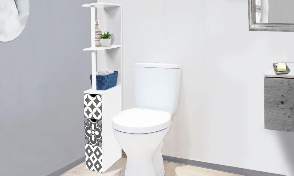 etagere wc carreaux de ciment