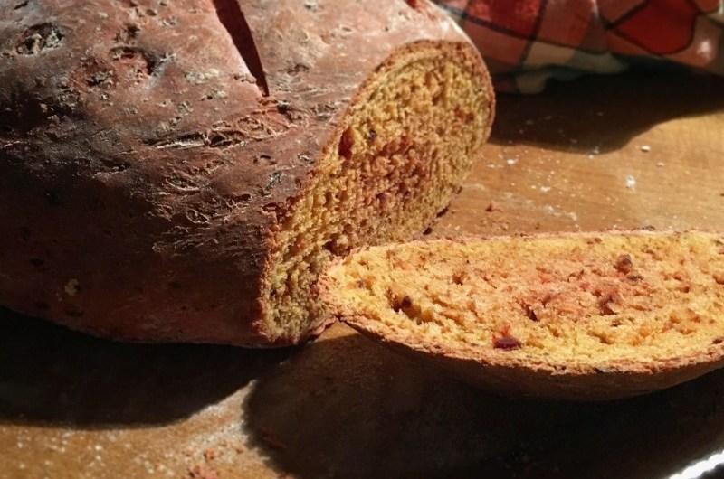 Rezept: Rote-Bete-Dinkel-Brot