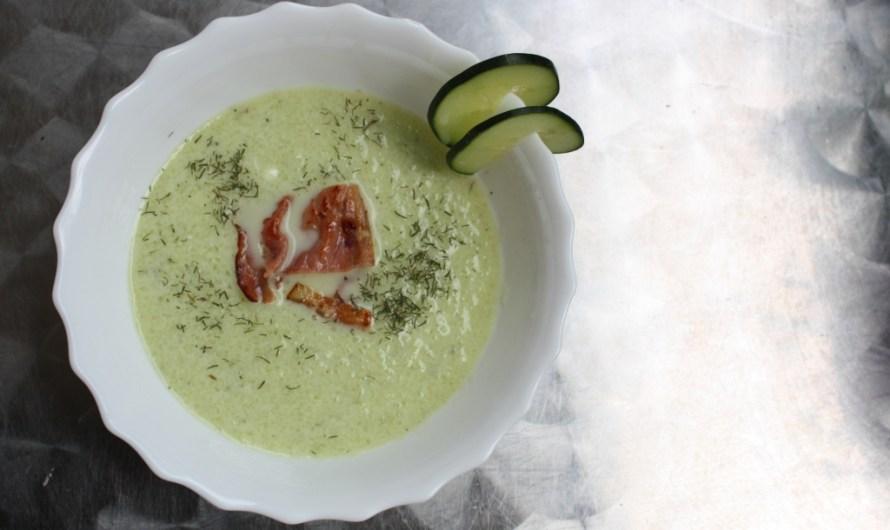 Rezept: Kalte Gurkensuppe