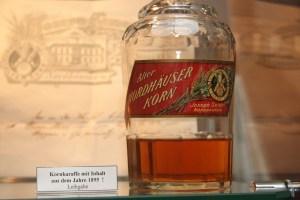 Die älteste Flasche Korn