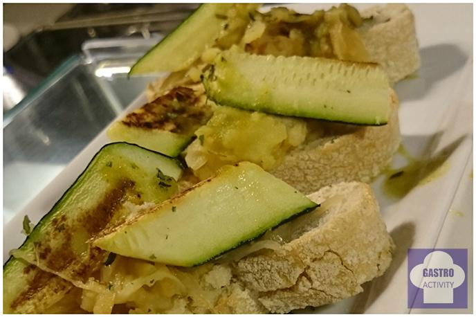 Picho de calabacín con patata en La Colchonería