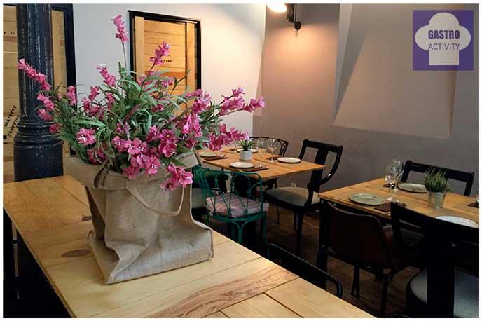 Planta baja Top Ten Restaurante Madrid