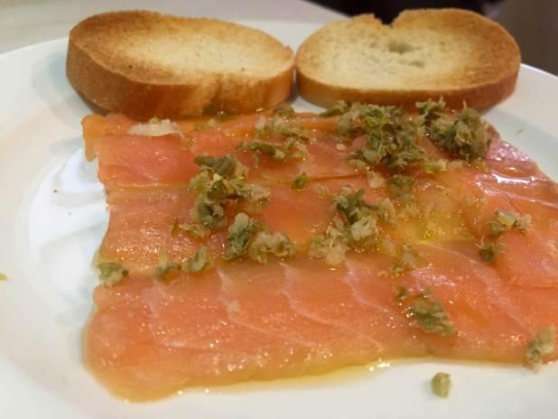 Salmon Alimentos de la Felicidad
