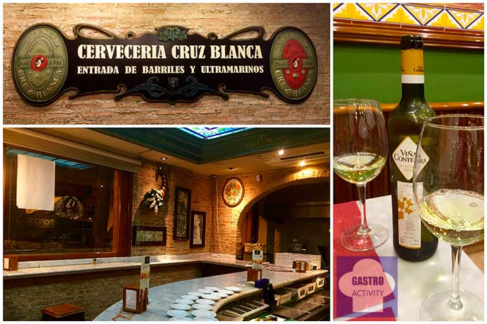 Restaurante La Cruz Blanca de Vallecas