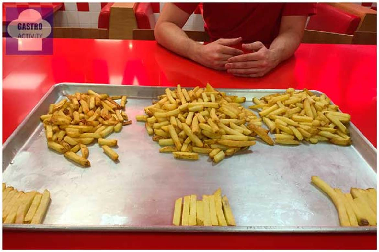 Test de patatas fritas Five Guys Madrid