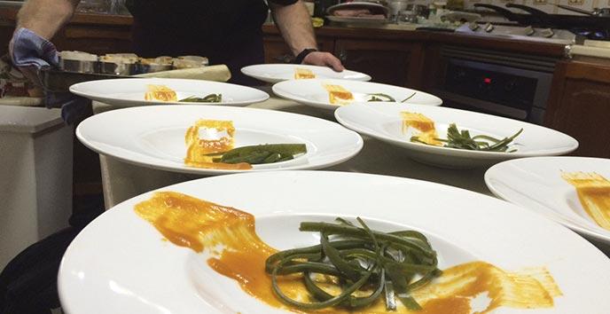 Catering del Restaurante Cinco Sentidos Madrid