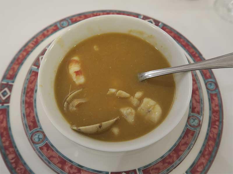 Restaurante Ox´s Sopa de pescado