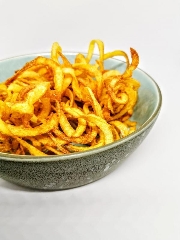 Hjemmelavet curly fries