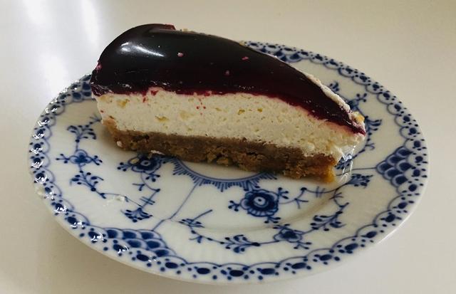 Cheesecake med solbær
