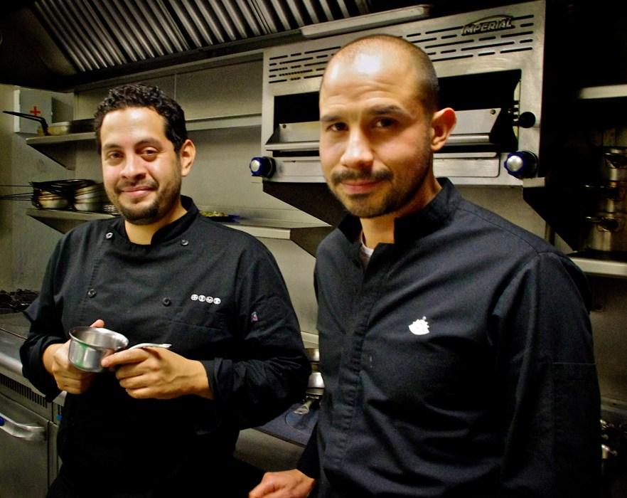 Los jóvenes chefs desde su cocina