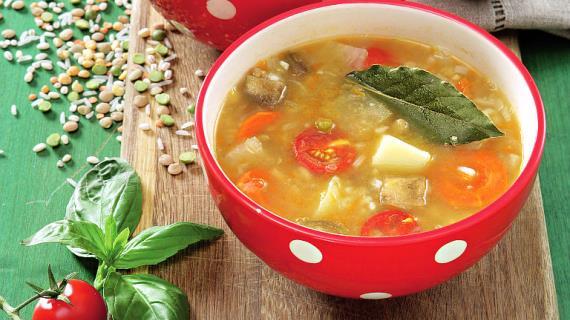 Lean Minestrone Soup