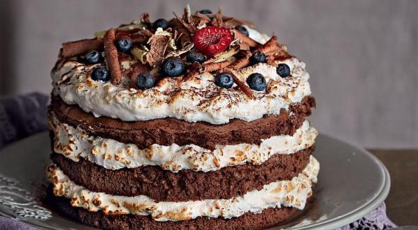 Ванильный торт, пошаговый рецепт с фото