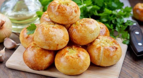 Пирожки кныши с картошкой, пошаговый рецепт с фото
