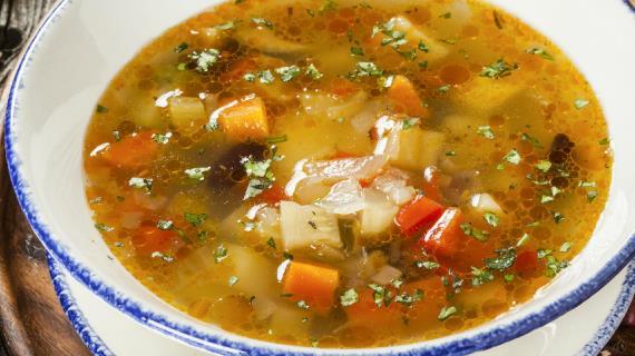 Georgian vegetable soup