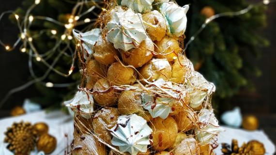Рождественская ёлочка, пошаговый рецепт с фото