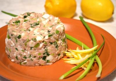 Салат из печени трески, пошаговый рецепт с фото