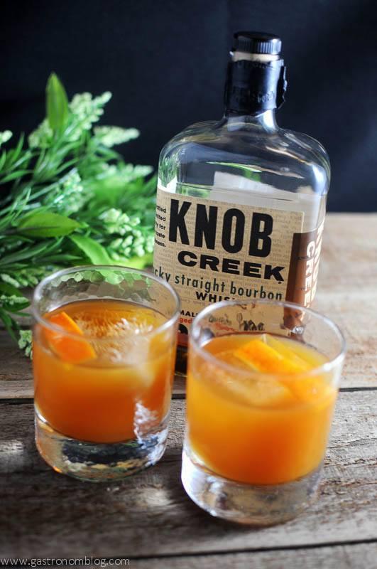 Tangerine Basil Cocktail