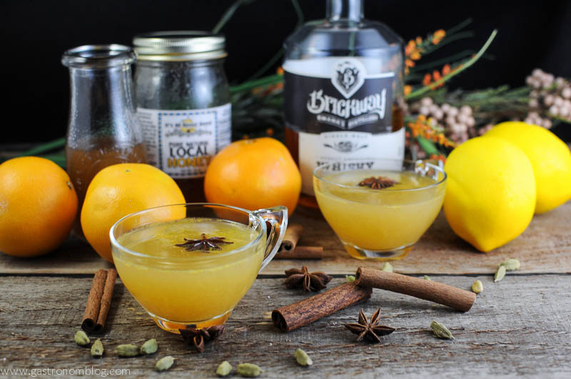 holiday honey punch | the gastronom