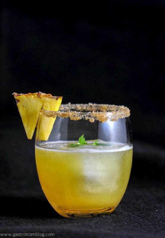 The Piña de Fuego - A Tequila Cocktail