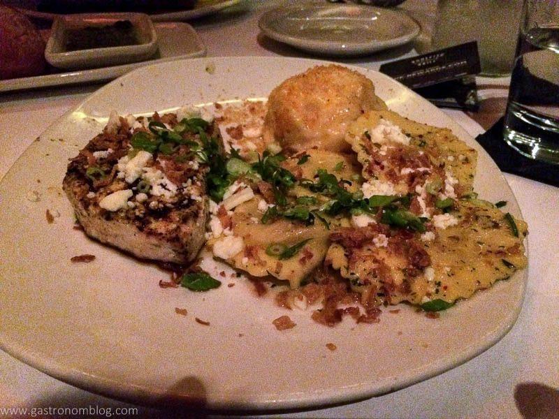 Bonefish Grill Swordfish and Pumpkin Ravioli