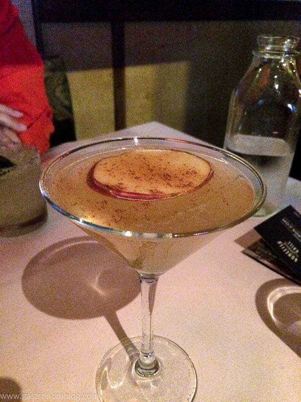 Bonefish Grill Fall Apple Martini