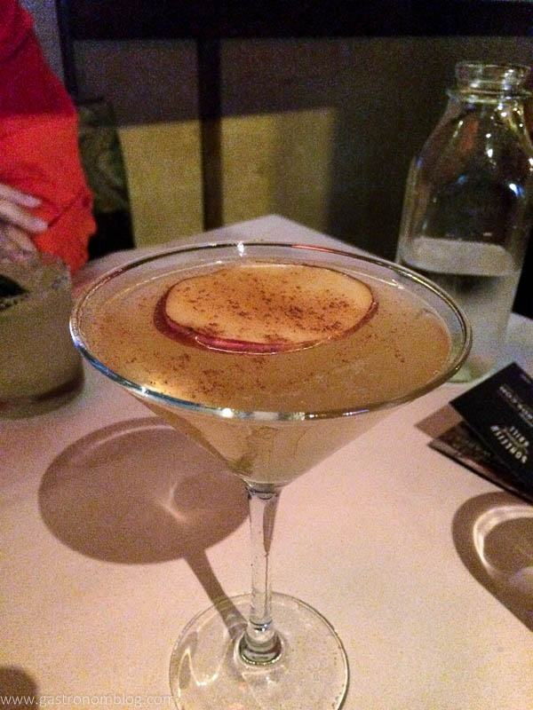 Bonefish Grill Fall Apple Martini